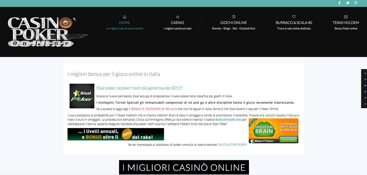 Casinopokeronline
